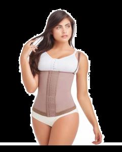 Delie 09173 Faja vest 3 level hook compression with suspenders braless