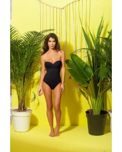 Fajas One Piece Swimsuit in Black