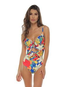 Fajas Floral Swimsuit Pattern