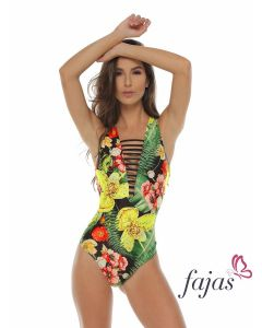 Fajas Tropical Swimsuit