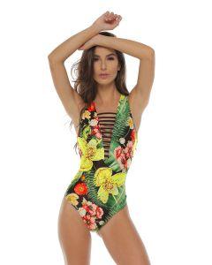 Faja Tropical Slimming Swimsuit